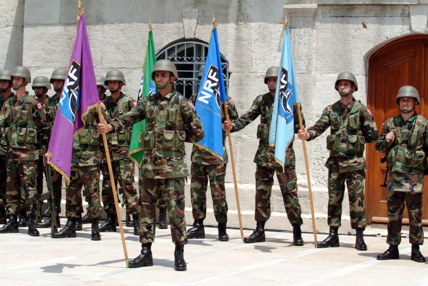 NATO Response Force (NRF) Change of Command Ceremony © NATO