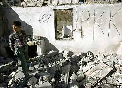 TURKEY PKK ON WALL